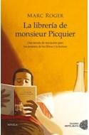 Papel LIBRERIA DE MONSIEUR PICQUIER (COLECCION NOVELA)