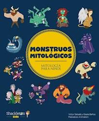 Libro Monstruos Mitologicos