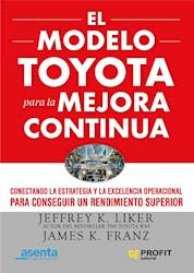 Libro El Metodo Toyota Para La Mejora Continua.