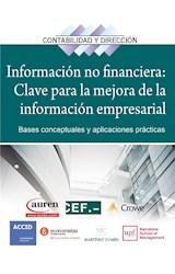 E-book Información no financiera