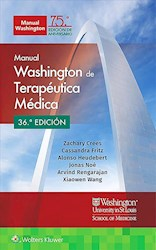 Papel Manual Washington De Terapéutica Médica Ed.36