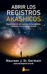 Libro Abrir Los Registros Akashicos