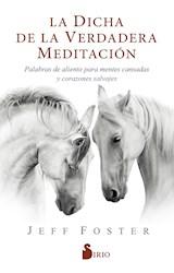 Libro La Dicha De La Verdadera Meditacion