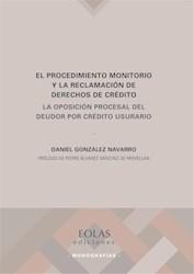 Libro El Procedimiento Monitorio Y La Reclamacion De De