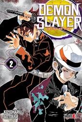 Libro 2. Demon Slayer : Kimetsu No Yaiba