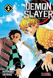 Papel Demon Slayer, Vol.3 Kimetsu No Yaiba