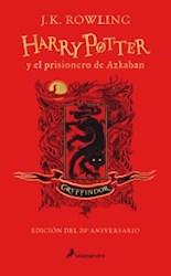 Libro 3. Harry Potter Y El Prisionero De Azkaban ( Gryffindor ) 20 Aniversario