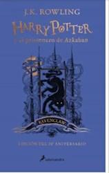 Papel Harry Potter 3 Y Prisionero De Azkaban Ravenclaw Azul Tapa Dura