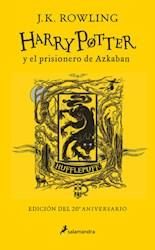 Libro 3. Harry Potter Y El Prisionero De Azkaban ( Hufflepuff ) 20 Aniversario