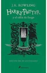 Papel Harry Potter Y El Caliz De Fuego - 20 Aniversario Slytherin Verde