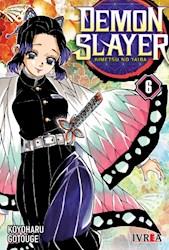 Libro 6. Demon Slayer :  Kimetsu No Yaiba