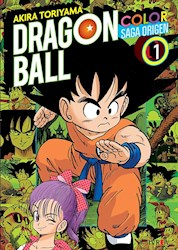 Papel Dragon Ball Color, La Saga Del Origen Vol.1