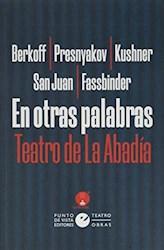 Papel En Otras Palabras. Teatro De La Abadía