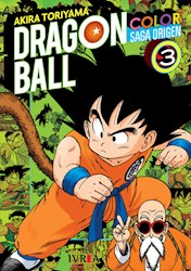 Papel Dragon Ball Saga Del Origen A Color Vol.3