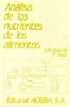Papel Analis Nutrientes De Alimentos