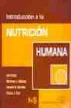 Libro Introduccion A La Nutricion Humana