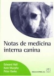 Libro Notas De Medicina Interna Canina