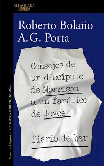 Papel Consejos De Un Discípulo De Morrison A Un Fanático De Joyce | Diario De Bar