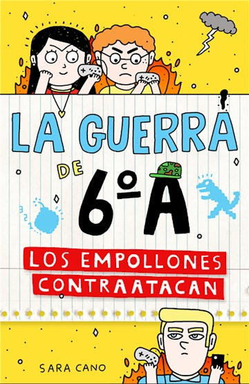 E-book Los Empollones Contraatacan (Serie La Guerra De 6ºA 2)