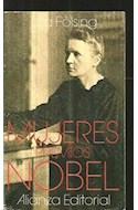 Papel MUJERES PREMIOS NOBEL (LIBRO BOLSILLO LB1600)