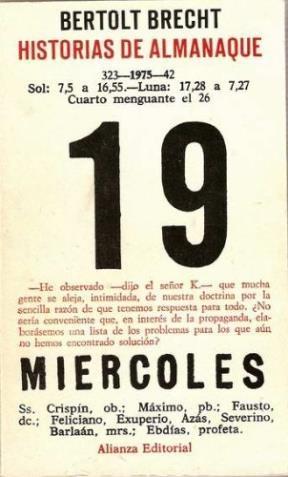 Papel Historia De Almanaque