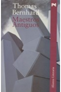 Papel MAESTROS ANTIGUOS (ALIANZA LITERARIA AL)