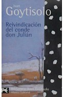 Papel REIVINDICACION DEL CONDE DON JULIAN [GOYTISOLO JUAN] (BIBLIOTECA AUTOR BA0253)
