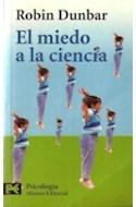 Papel MIEDO A LA CIENCIA (CIENCIAS SOCIALES CS3603)