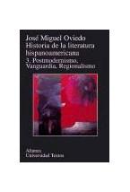 Papel HISTORIA DE LA LITERATURA HISPANOAMERICANA T.3