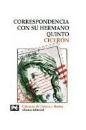 Papel CORRESPONDENCIA CON SU HERMANO QUINTO [CLASICOS DE GRECIA Y ROMA] (BIBLIOTECA TEMATICA BT8257)