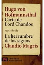 Papel CARTA DE LORD CHANDOS