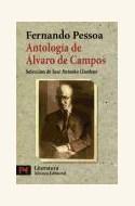 Papel ANTOLOGIA DE ALVARO DE CAMPOS