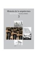 Papel HISTORIA DE LA ARQUITECTURA 3 (ALIANZA FORMA AF78)