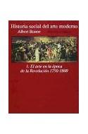 Papel HISTORIA SOCIAL DEL ARTE MODERNO 1 EL ARTE EN LA EPOCA (ALIANZA FORMA AF128)