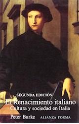 Papel RENACIMIENTO ITALIANO. CULTURA Y SOCIEDAD EN ITALIA (R) (, E