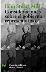 Papel CONSIDERACIONES SOBRE EL GOBIERNO REPRESENTATIVO
