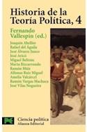 Papel HISTORIA DE LA TEORIA POLITICA 4 [CIENCIA POLITICA] (CIENCIAS SOCIALES CS3415)