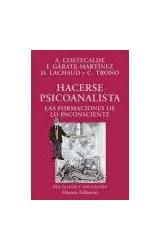 Papel HACERSE PSICOANALISTA (FORMACIONES DE LO INCONSCIENTE)