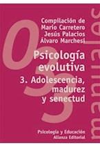 Papel PSICOLOGIA EVOLUTIVA - 3 (MA 033)