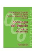 Papel SOCIOLOGIA DEL DEPORTE (2/ED) [CIENCIAS SOCIALES] (MANUALES ALIANZA MA006)
