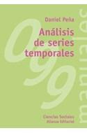 Papel ANALISIS DE SERIES TEMPORALES [CIENCIAS SOCIALES] (MANUALES ALIANZA MA99)