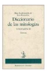 Papel DICCIONARIO DE LAS MITOLOGIAS VOL II
