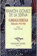 Papel GREGUERIAS SELECCION 1910-1960