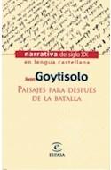 Papel PAISAJES PARA DESPUES DE LA BATALLA (NARRATIVA)