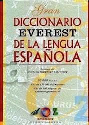 Libro Gran Diccionario Everest De La Lengua Española - 80.000 Voces -
