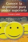 Libro Conoce La Depresion Para Poder Superarla