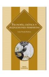 Papel FILOSOFIA CRITICA Y (RE)FLEXIONES FEMINISTAS