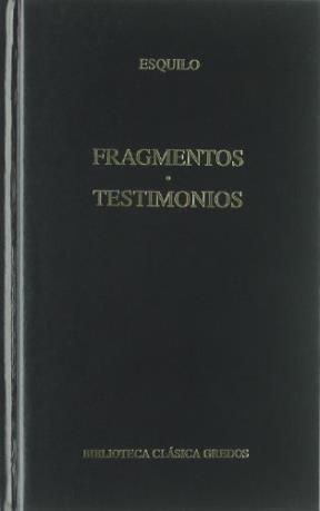 Papel 369. Fragmentos Testimonios