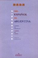 Papel DICCIONARIO DEL ESPAÑOL DE ARGENTINA ESPAÑOL DE ESPAÑA (CARTONE)