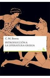 Papel INTRODUCCION A LA LITERATURA GRIEGA